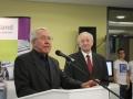 Michael Kretschmer (Schulleiter) eröffnet den Tag der Technik 2013 am JFG