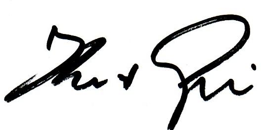 Unterschrift Gribl